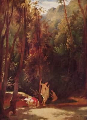 Im Park von Terni Staatsgalerie