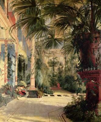 Palmenhaus auf der Pfaueninsel bei Potsdam Kunsthalle