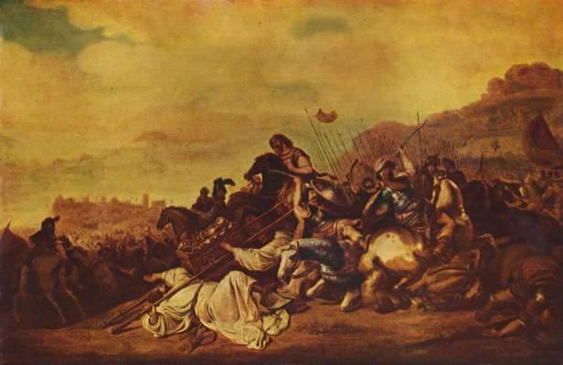 Die Schlacht von Ebenezer  Museum der Bildenden Künste