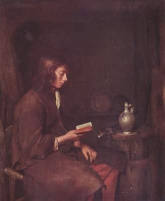 Der Lesende Staatliches Museum, Gemäldegalerie