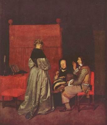 Väterliche Ermahnung Gemäldegalerie