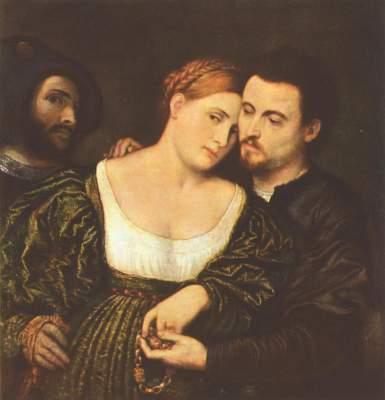 Venezianisches Liebespaar Pinacoteca di Brera
