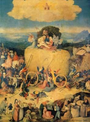 Heuwagen-Triptychon, Mittelbild Museo del Prado