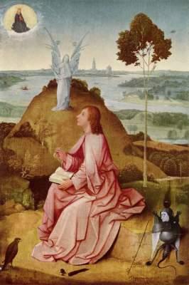 Johannes der Evangelist auf Patmos Gemäldegalerie