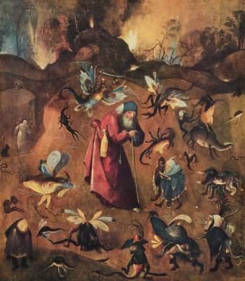 Versuchung des Hl. Antonius Slg. Thyssen-Bornemisza