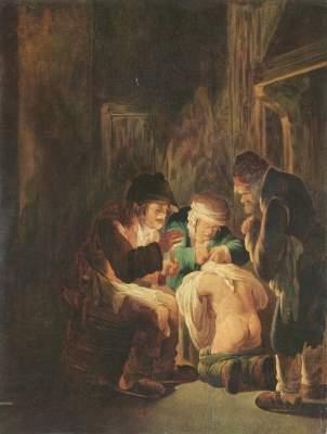 Säuberung bei Kerzenlicht Museum der Bildenden Künste