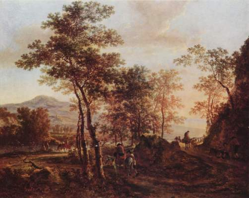 Abendlandschaft Kunsthalle