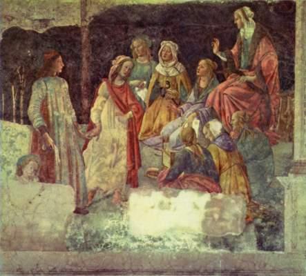 Allegorien der Hochzeit Albizzi-Tornabuoni Musée National du Louvre
