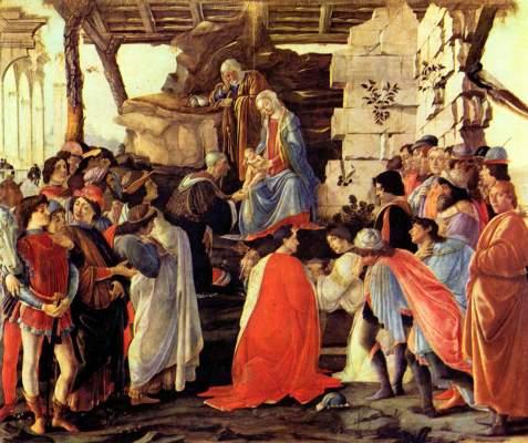 Anbetung der Könige Galleria degli Uffizi