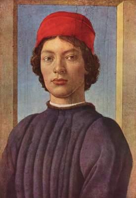 Bildnis eines Jünglings mit roter Mütze
