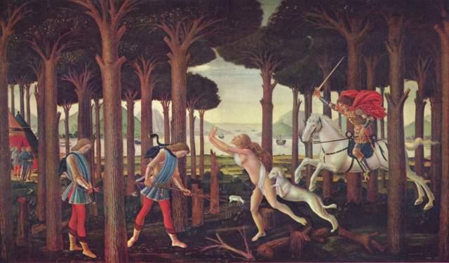 Die Geschichte von Nastagio Degli Honesti Museo del Prado