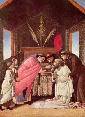 Die Letzte Kommunion des Hl. Hieronymus Metropolitan Museum of Art