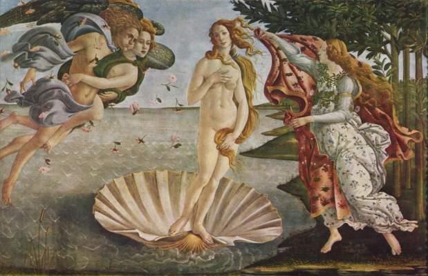 Geburt der Venus Galleria degli Uffizi