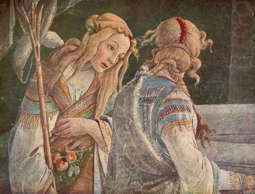 Jugend Moses (Wandbild, Ausschnitt) Vatikan, Sixtinische Kapelle