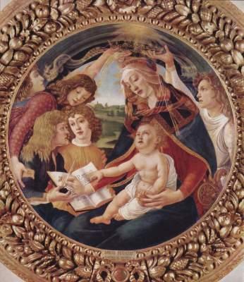 Madonna del Magnificat (Tondo) Galleria degli Uffizi