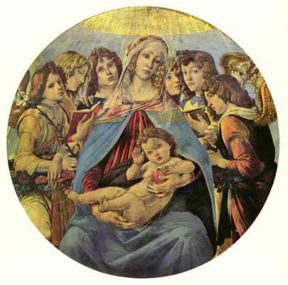 Madonna della Melagrana Galleria degli Uffizi