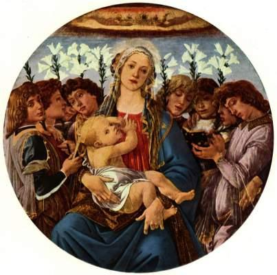 Madonna mit acht singenden Engeln (Berliner Madonna)