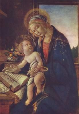 Maria mit dem Buch Museo Poldi Pezzoli