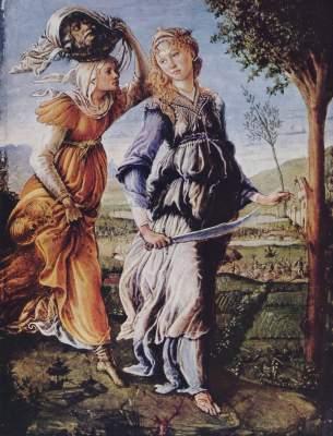 Rückkehr Judiths (Diptychonflügel) Galleria degli Uffizi