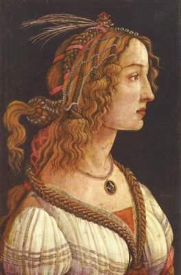 Simonetta Vespuci(?) Städelsches Kunstinstitut