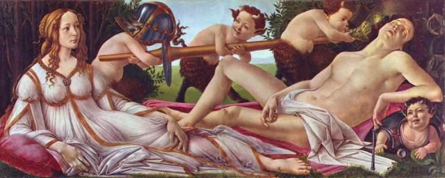 Venus und Mars National Gallery