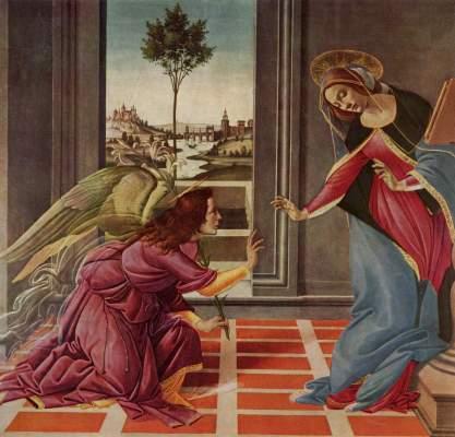 Verkündigung Galleria degli Uffizi