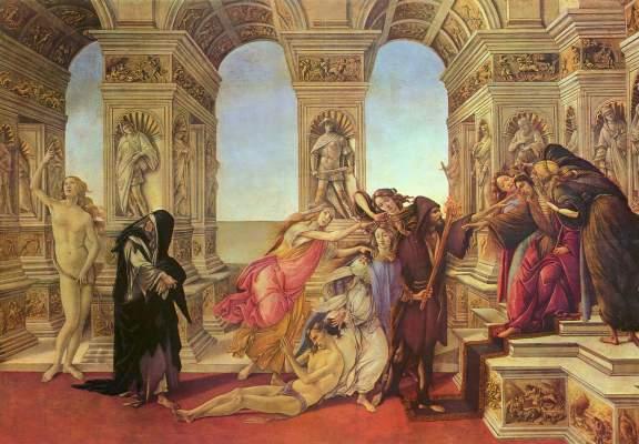 Verleumdung Galleria degli Uffizi