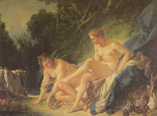 Diana im Bade Musée National du Louvre