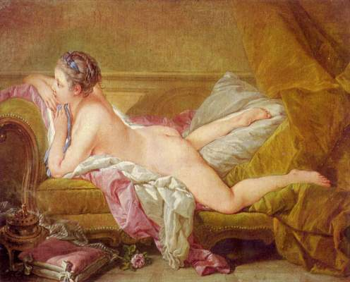 Ruhendes Mädchen Alte Pinakothek