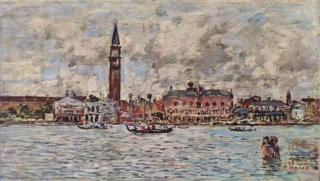 Piazzetta S. Marco in Venedig mit Molo und Palazzo Ducale Slg. Durand-Ruel