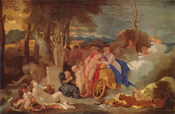 Bacchus und Ceres mit Nymphen und Satyren Museum der Bildenden Künste