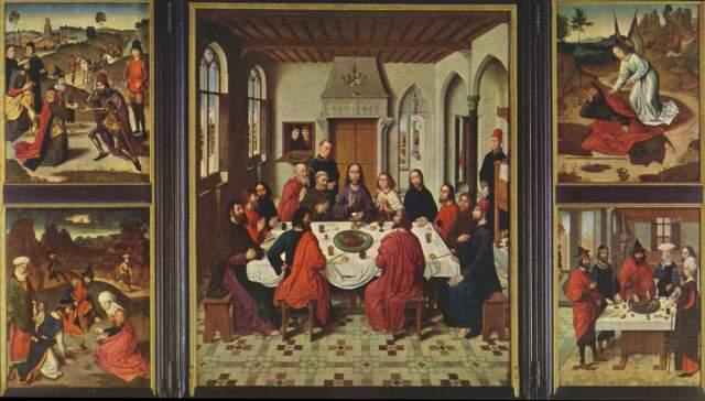 Altar des Letzten Abendmahls St. Peter