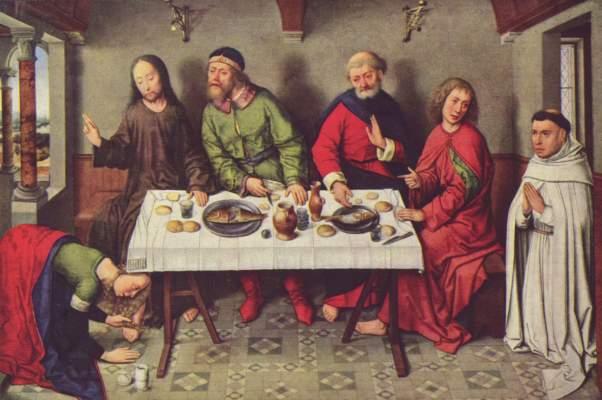 Gastmahl im Hause des Simon Gemäldegalerie