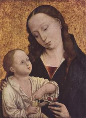 Die Madonna mit den Kirschen Staatliche Kunstsammlungen