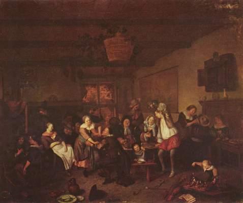 Fröhliche Gesellschaft Museum der Bildenden Künste