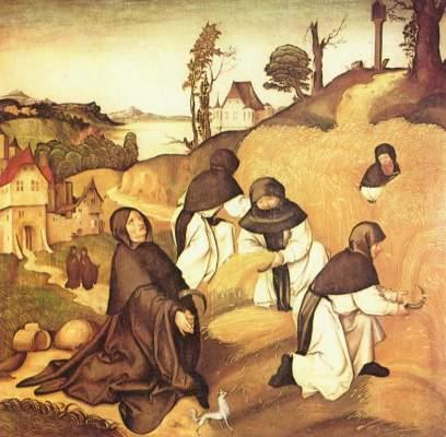 Bernhardsaltar: Szenen aus dem Leben des Hl. Bernhard Stiftskirche