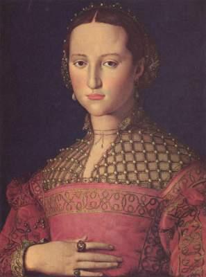 Eleonore von Toledo mit ihrem Sohn Národni Galerie