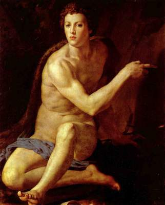 Hl. Johannes der Täufer Galleria Borghese