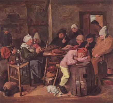 Das Schlachtfest Staatliches Museum, Gemäldegalerie