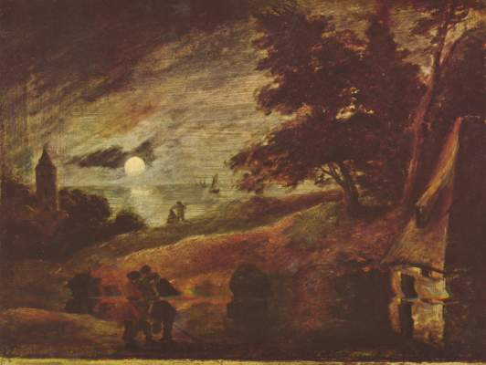 Mondlandschaft Gemäldegalerie