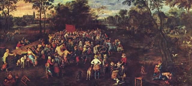 Das Hochzeitsbankett Museo del Prado