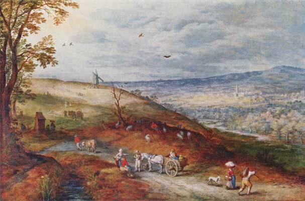 Landschaft mit Windmühle Alte Pinakothek