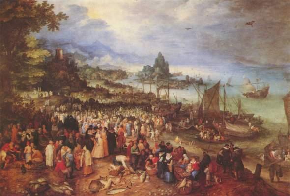 Seehafen mit der Predigt Christi Bayerische Staatsgemäldesammlungen