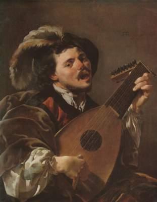 Der singende Lautenspieler  National Gallery