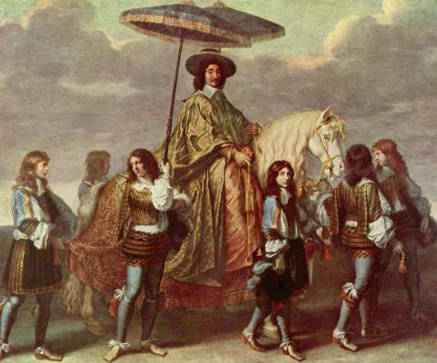 Der Kanzler Séguier zu Pferde Musée National du Louvre
