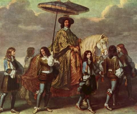 Der Kanzler Séguier beim Einzug Ludwigs XIV. in Paris im Jahre 1660 Musée National du Louvre