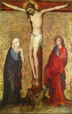 Pähler Altar: Kreuzigung Christi Bayerisches Nationalmuseum