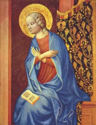 Die Jungfrau der Verkündigung National Gallery of Art