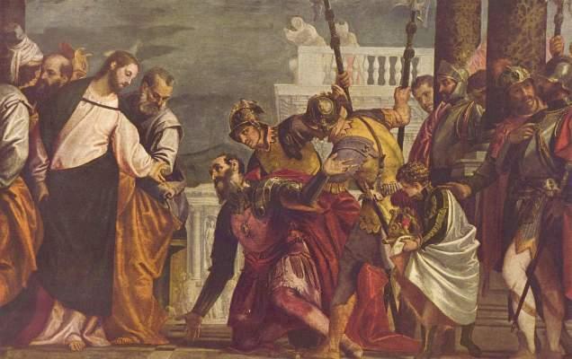 Christus und der Hauptmann von Kapernaum Museo del Prado