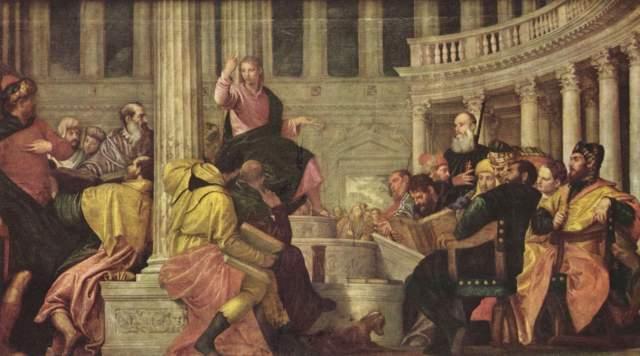 Christus und die Schriftgelehrten Museo del Prado